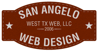 San Angelo Website Design & Hosting